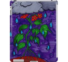 Rain Can't Stop the Flower Power iPad Case/Skin
