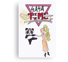 Gaga Time Canvas Print