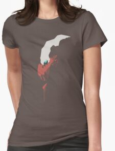 Darkrai Paint Splatter Womens Fitted T-Shirt