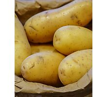 Tates... New Potatoes In A Paper Bag Photographic Print