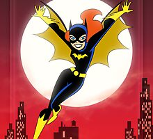 Batman The Animated Series - Batgirl by patrick womble