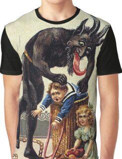 Krampus Greetings Graphic T-Shirt