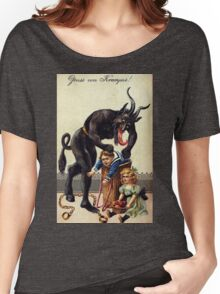 Krampus Greetings Women's Relaxed Fit T-Shirt