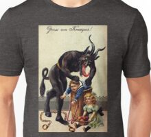 Krampus Greetings Unisex T-Shirt