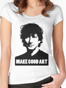 Make Good Art Women's Fitted Scoop T-Shirt