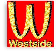 Westside Burgers Canvas Print