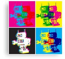 CMYK Robots Canvas Print