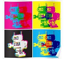CMYK Robots Poster