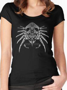 Lambda-11 Crest  Women's Fitted Scoop T-Shirt
