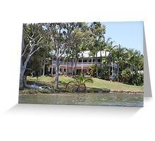 Riverside Queenslander Greeting Card