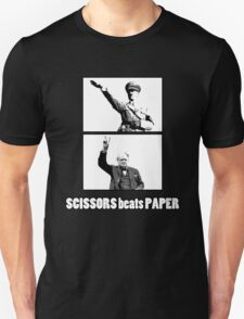 SCISSORS beats PAPER T-Shirt