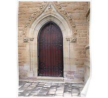 Chapel Door Poster