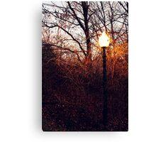 Narnia Lamppost Canvas Print
