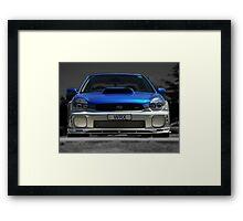 Subaru WRX Framed Print