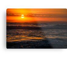 13th Beach Sunset 2 Metal Print