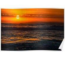 13th Beach Sunset 2 Poster
