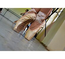 Pointe Shoes at ProDanza Photographic Print