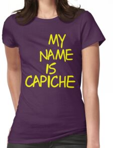 Johnny Bravo-Capiche Womens Fitted T-Shirt