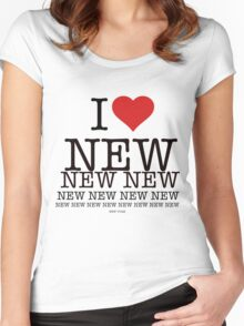 I love New New York Women's Fitted Scoop T-Shirt