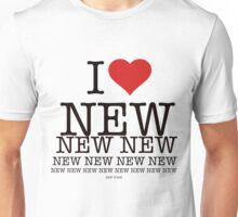 I love New New York Unisex T-Shirt