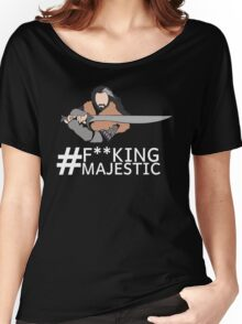 Majestic Thorin Oakenshield- Censored Women's Relaxed Fit T-Shirt