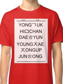 Love BAP Classic T-Shirt