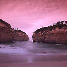 Loch Ard Gorge Australia by John Bullen