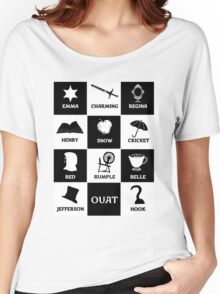 OUAT once upon a time Women's Relaxed Fit T-Shirt