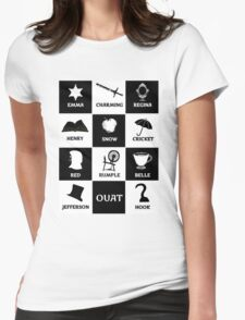OUAT once upon a time Womens Fitted T-Shirt