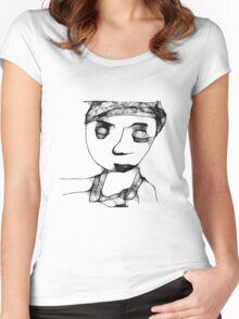 Summer Evening Women's Fitted Scoop T-Shirt