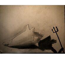 shadow of Poseidon  Photographic Print