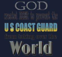 God, Beer & the U. S. Coast Guard One Piece - Short Sleeve
