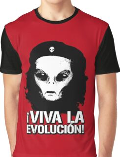 Alien Che Evolution Graphic T-Shirt