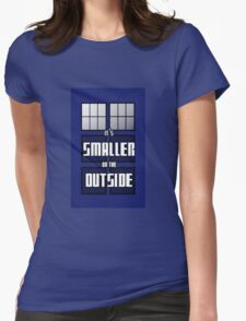 It's Smaller on the Outside Womens Fitted T-Shirt