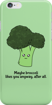 Maybe broccoli likes you anyway, after all. by starkat