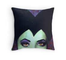 Bad Girl Villainess Throw Pillow
