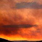 The eye of doom - Derwent River, Tasmania by clickedbynic
