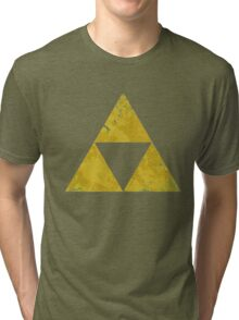Zelda Tri Force Tri-blend T-Shirt
