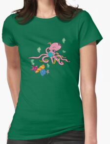 Sealife3 Womens Fitted T-Shirt