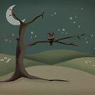 Starry Night by Rosemary  Scott - Redrockit