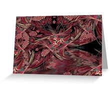 Linear cave Greeting Card