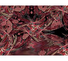 Linear cave Photographic Print