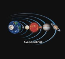 Geocentrist - T Shirt by BlueShift