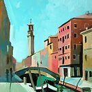 Bridge in Venice by Filip Mihail
