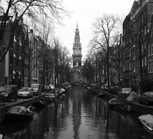 Amsterdam Canal by Kingsleyc
