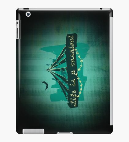 Life is a Carnivale! iPad Case/Skin