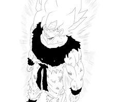 Draon Ball - Goku by A-aru
