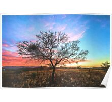 Outback Sunset (GO) Poster