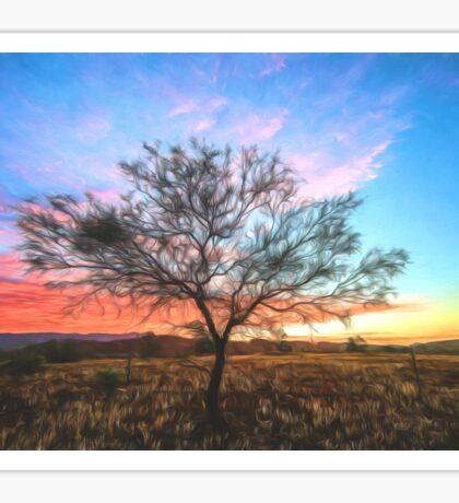 Outback Sunset (GO) Sticker