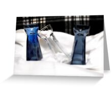 The focal glass Greeting Card